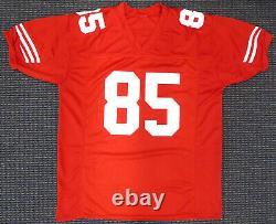 San Francisco 49ers Vernon Davis Autographed Signed Red Jersey Psa/dna 16454