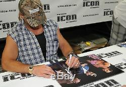 Shawn Michaels & Bret Hart Signed WWE 16x20 Photo PSA/DNA COA with Vince McMahon