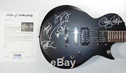 Signed Styx Autographed Esp Ltd Guitar Certified Authentic Psa / Dna # Ad03867
