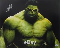Stan Lee Authentic Signed The Hulk 16X20 Photo Marvel Comics PSA/DNA 2