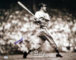 Stan Musial Autographed Signed 16x20 Photo Cardinals Hof 69 Psa/dna 81012