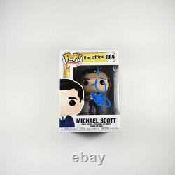 Steve Carell The Office #869 Autographed Signed Funko Pop Authentic PSA/DNA COA