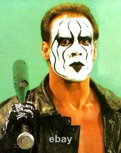Sting Signed Official Mechanix Ring Glove PSA/DNA COA TNA WWE WCW Wrestling Auto