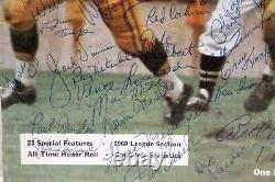 1960 Green Bay Packers Team Signed Yearbook Lombardi Vainisi Psa/dna Jsa & Sgc