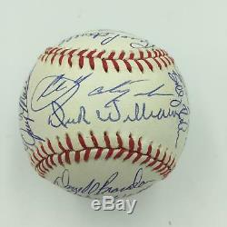1967 Boston Red Sox Al Champs Équipe De Base-ball Signé Carl Yastrzemski Psa Adn Coa