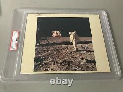 1969 Nasa Apollo 11 Crew Signed Original Psa/dna Type 1 Photo 1st Men On Moon