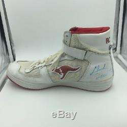 1980 Clyde Drexler Jeu Signed Sneakers Chaussures D'occasion Coupler Avec Psa Adn Coa