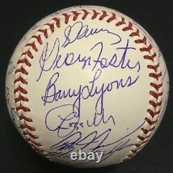 1986 Signé Mets Baseball Officiel World Series 35 Auto Gary Carter Psa / Adn Loa