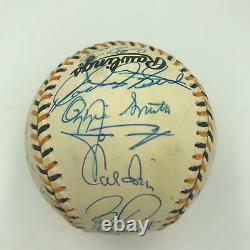 1994 All Star Game Nl Équipe De Baseball Signée Obligations Maddux Gwynn Biggio Psa Adn Coa
