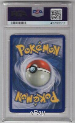 1999 Base De Pokemon Set Charizard Holo 4 Mitsuhiro Arita Signé Avec Sketch Psa / Adn