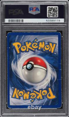 1999 Pokemon Base Set Steve Aoki Holo Charizard Sans Ombre Psa/dna Auto 8 Psa 1