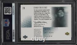 2001 Sp Signe Authentique Des Temps Tiger Woods Rookie Rc Psa/adn 10 Auto Psa 8