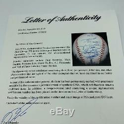 2005 Série White Sox Chicago World Champs Équipe Signature Dna Psa Baseball (26) Coa
