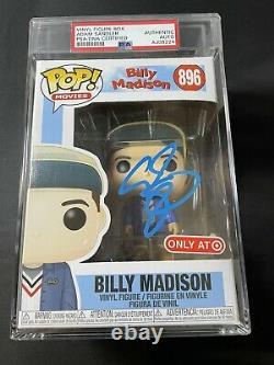 Adam Sandler A Signé Funko Pop! Billy Madison #896 Psa/adn Autographe Auto 1/1