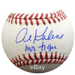 Al Kaline Autographié Signé Lmb Baseball Tigers M. Tiger Psa / Adn 94291