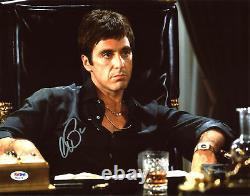 Al Pacino Scarface Authentique Signé 11x14 Photo Dédicacée Psa / Adn Itp # 6a31079