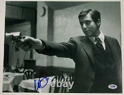 Al Pacino Signé 11x14 Le Parrain Photo Michael Corleone Auto Psa Adn Pti