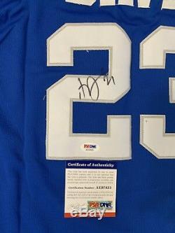 Anthony Davis Maillot Signé Psa / Adn Nouvelle-orléans Pélicans Autographié Kentucky Wi