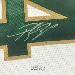 Autographié / Signé Yánnis Antetokoúnmpo Milwaukee Jersey Blanc Psa / Adn Coa Auto