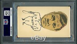Babe Ruth Autographié 3x5 Carte Index Sincèrement Auto 9e Année Psa / Adn 84130490