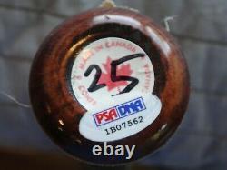 Barry Bonds Jeu Utilisé 2001 Autographe Sam Bat Psa / Adn Certifié Authentique Signé