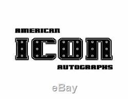 Bill Goldberg Signé Wwe Championship Monde Toy Ceinture Psa / Adn Coa Wcw Autograph