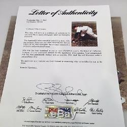 Billy Martin Signé Autographié Yankees De New York 8x10 Photo Psa Adn Coa