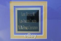 Bryant Encadré Signé Kobe Jersey Los Angeles Lakers # 8 Autographié Psa Adn Coa