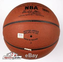 Bryant Kobe Authentique Signé Full Size Nba Basketball Psa / Adn Coa Et Bas Loa