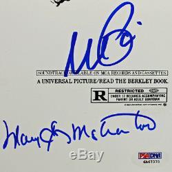 Cast Scarface (11 Signatures) Al Pacino Signé 11x17 Affiche Du Film Psa / Adn