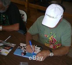Cheech Marin Et Tommy Chong Signed 8x10 Psa / Adn Photo Coa En Fumée Autograph