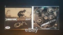 Chester Bennington De Linkin Park Signé Autographié Meteora CD Psa / Adn Authentique