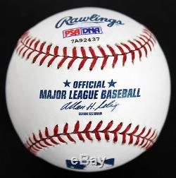 Chevy Chase Authentique Signé Oml Balle De Baseball Autographiée Psa / Adn Pti