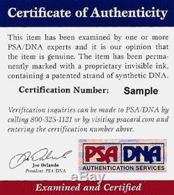 Chicago Bears Jay Cutler Autographed Authentic Signé Jersey Bleu Psa / Adn 102485