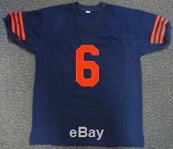 Chicago Bears Jay Cutler Autographed Authentic Signé Jersey Bleu Psa / Adn 102486