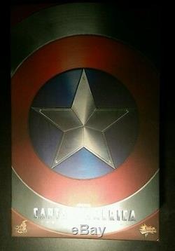 Chris Evans Captain America A Signé Le Bouclier Autographié, Coa 1/6