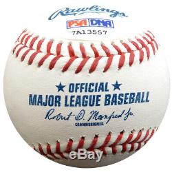 Clayton Kershaw Autographié Signé Lmb Baseball Dodgers Psa / Adn Itp 94435