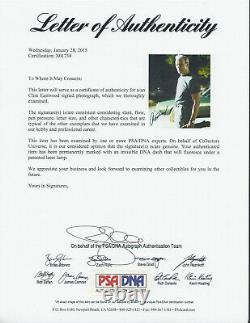Clint Eastwood Gran Torino Dirty Harry Signé Autographe 11x14 Photo Psa/adn Coa