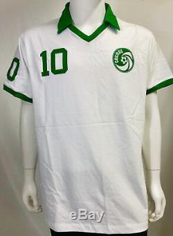 Cosmos Pelé Autographié Soccer Jersey Psa / Adn Coa Signé