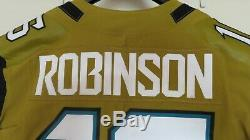 Denard Robinson Jacksonville Jaguars Autographié Jeu Émises Jersey Occasion Psa / Adn