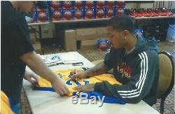 Derrick Rose Psa / Adn Signé Simeon Highschool # 25 Jersey Certifié Autographié