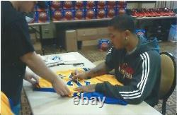 Derrick Rose Psa/dna Signé Simeon High School #25 Jersey Certifié Autographié