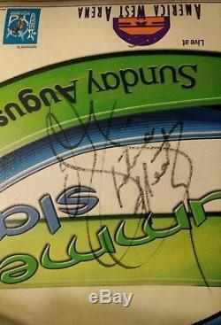 Eddie Guerrero Signé 2004 Président Wwe Summerslam Wwf Wrestlemania Psa / Adn Rare