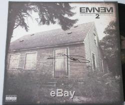 Eminem Adn Signée À La Main Lp + Psa Coa Acheter 100% Authentique Eminem Votre Recherche -ne