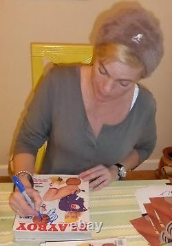 Erika Eleniak Signé Avril 1989 Playboy Magazine Psa/adn Coa Baywatch Autographe