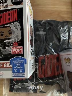 Funko Pop Moff Gideon Giancarlo Esposito Autograph Target Exc Signed Psa/adn