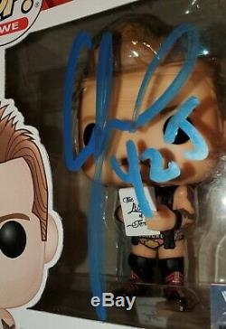 Funko Pop Wwe Chris Jericho Signé Autographié Y2j Vinyl Figure Psa / Adn