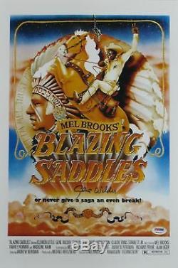 Gene Wilder Signé Blazzing Saddles Autographié 12x18 Affiche (psa / Adn) # 4a96757