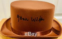 Gene Wilder Signé Willy Wonka Hat Auto Psa Adn Coa Témoin