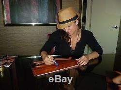 Gina Carano Signé 11x17 Photo Psa / Adn Coa Autograph Auto'd Haywire Strikeforce